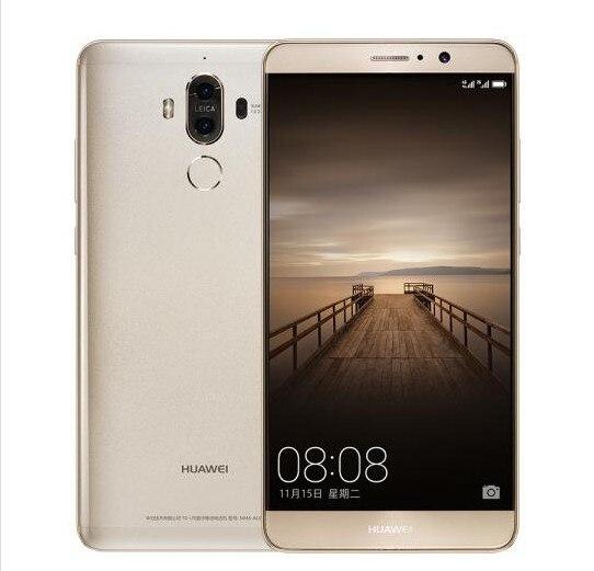 """Международная прошивка HuaWei Коврики 9 4G LTE сотовый телефон Kirin 960 Android 7,0 5,9 """"FHD 1920X1080 6 ГБ Оперативная память 128 ГБ Встроенная память 20.0MP NFC"""