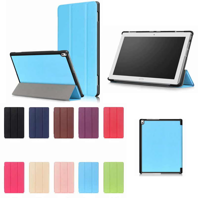 Case For Lenovo TAB4 Tab 4 10 Plus TB-X704L Cases 10.1″ TB-X704F TB-X704N Smart Cover Funda Tablet PU Leather Shell