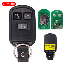 Keyecu удаленный ключевой 3 Кнопка fob 315 мГц для 2001-2005 Hyundai Sonata/2002-2004 xg350/ 2000-2005 акцент FCC ID: pinhacoef311