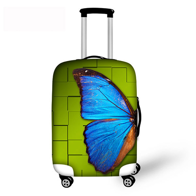 Men's Women's Suitcase Cover Fashion Trolley Suitcase Protect Dust Bag Case Accessories Luggage Protective Travel Luggage Cover