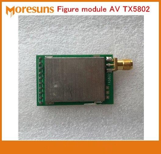 Free Ship 5.8G 200mw wireless audio and video transmission module FPV aerial photo Figure module AV TX5802