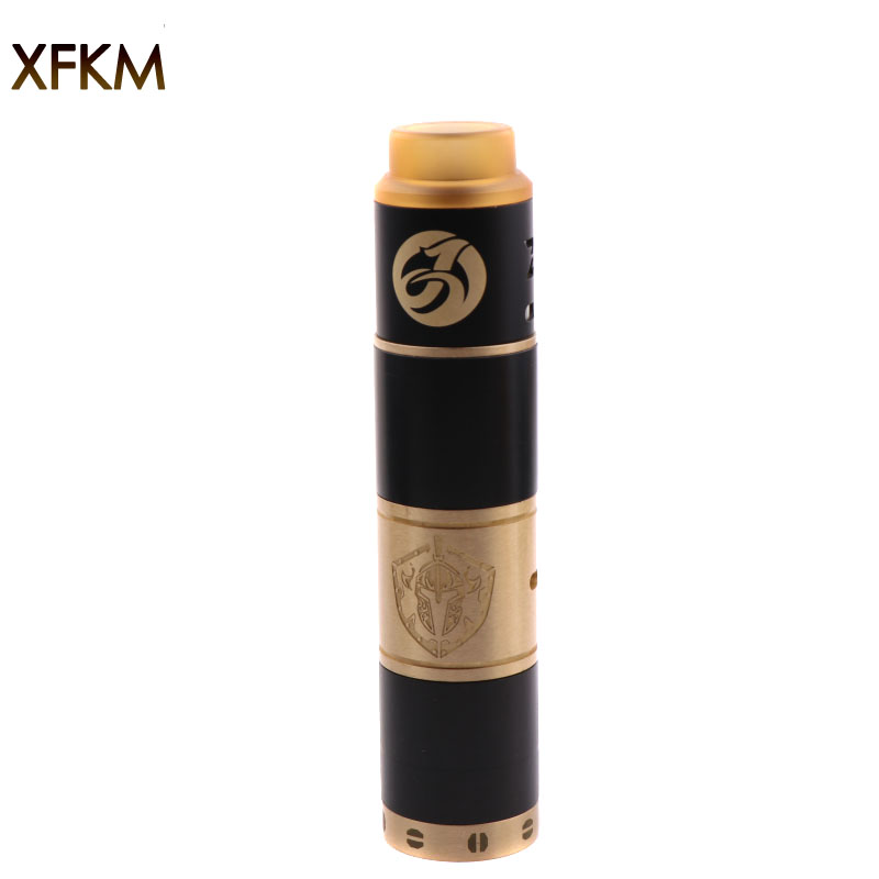 New XFKM kit-A mechanical mod Electronic cigarette atomizer vape with E cigarette mechanical mod 510 thread atomizer benecig killer 260w mechanical mod