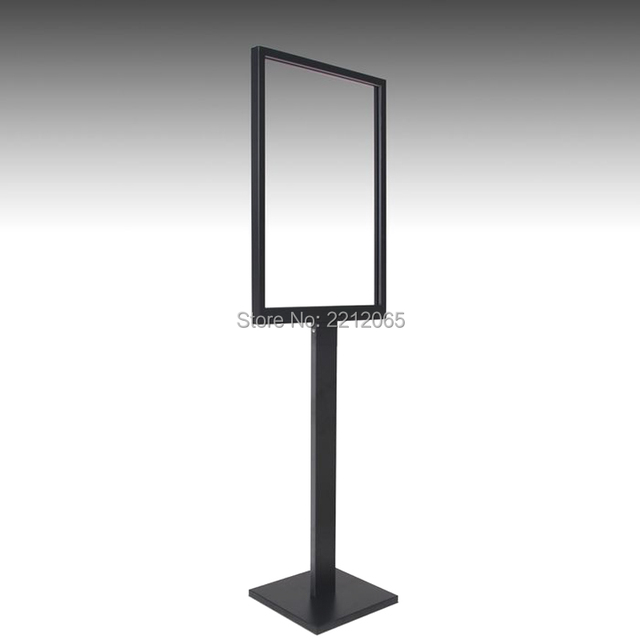Floor Standing Menu Poster Displays Picture Frame for Promotional Advertising, Graphics,Signage-Top Loading