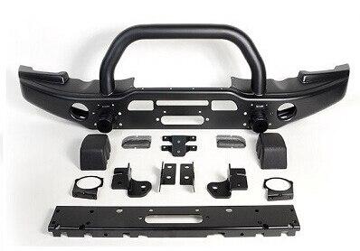 Передний бампер. OEM стальной черный Передний внедорожный бампер для крепления лебедки защитная решетка для Jeep JK Wrangler 2007 up, 4x4 аксессуары Запч