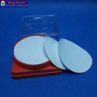 50 pçs/lote 0.45 ou 0.22um  50mm membrana Hidrofílica membrana de PTFE para o Acetato De celulose Solvente Do Óleo/tipo Hidrofóbicas