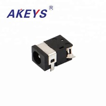 цены 15PCS DC-045A SMT Factory Directly Supply silver plating Female DC Power Jack Connector with column