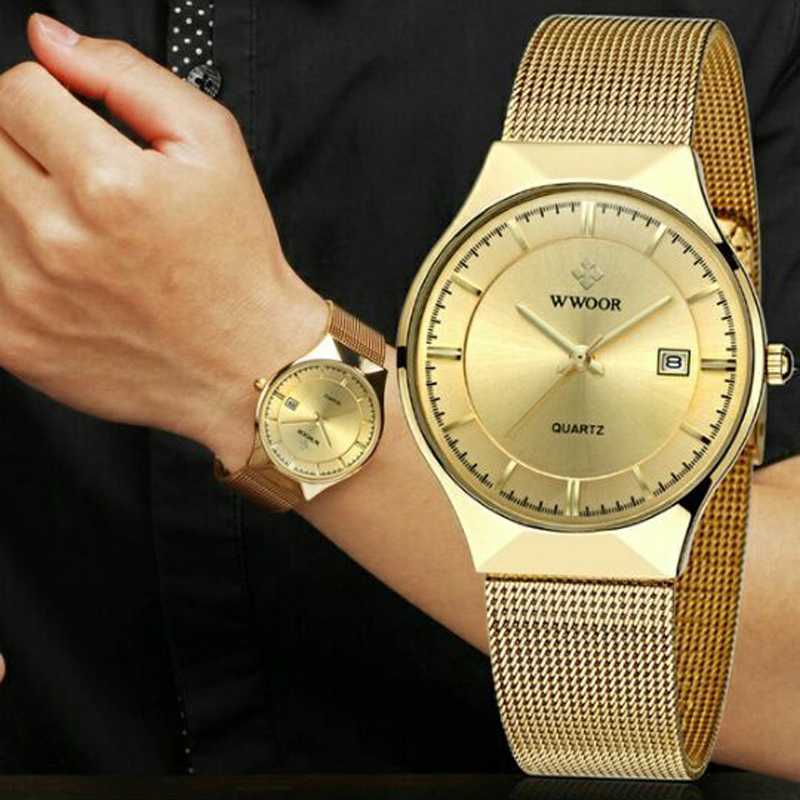 Mens Watches Top Brand Luxury Gold Watch men Watches Fashion Casual Quartz-watch Male Steel Bracelet Luxury Dress Wristwatches mens watches top brand luxury stainless steel analog display quartz watch men fashion casual wristwatches montre homme