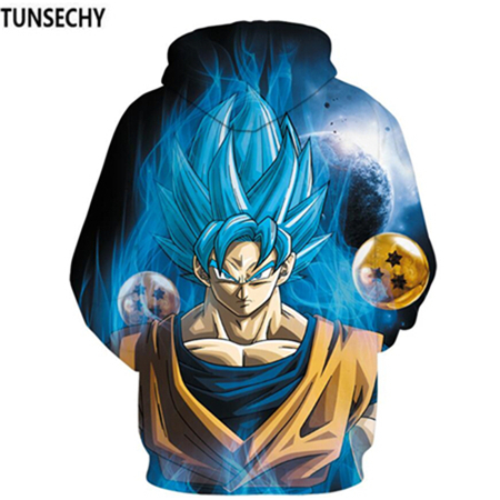 TUNSECHY Brand Dragon Ball 3D Hoodie Sweatshirts Men Women Hoodie Dragon Ball Z Anime Fashion Casual Tracksuits Boy Hooded 9