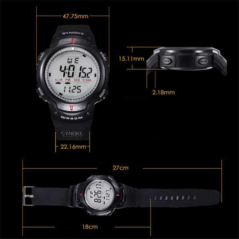 Tz #5/22 militar relógio de pulso esportes homens led relógio eletrônico moda digital relógios de pulso dos homens vida ao ar livre relógio à prova dwaterproof água