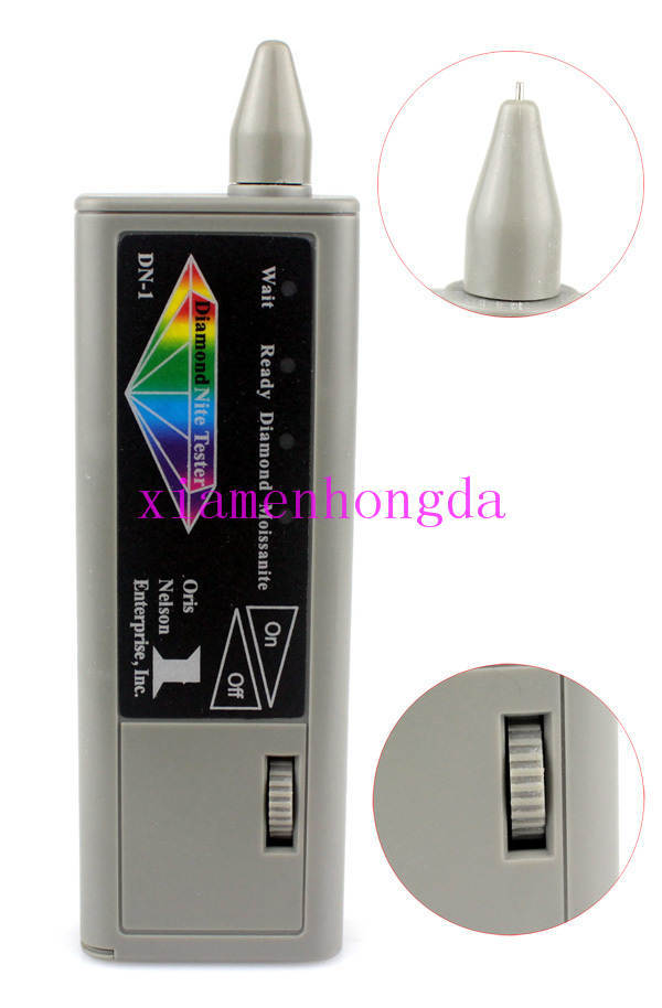 Goldsmith high quality,dual Diamond Tester / diamond tester pen,Small size, easy to use and carry