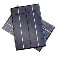איכות גבוהה 4.2 w 6 v שמש השמש מודול polycrystalline פנל סולארי diy מטען סולארי 200*130*3 מ