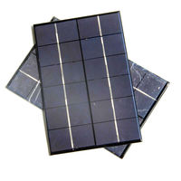 High Quality 4.2W 6V Solar Cell Solar Module Polycrystalline Solar Panel DIY Solar Charger 200*130*3MM 2PCS/Lot Free Shipping