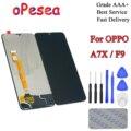 OPesea 6 3 ''Für OPPO A7X F9 LCD Display Panel Touch Screen Digitizer Montage Ersatz Teile-in Handy-LCDs aus Handys & Telekommunikation bei