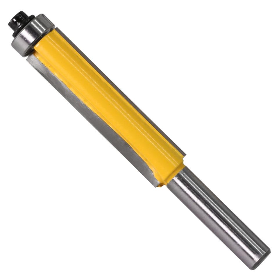 "HTB17uZMXwaH3KVjSZFpq6zhKpXaR - 1pc 8mm Shank 2"" Flush Trim Router Bit with Bearing for Wood Template Pattern Bit Tungsten Carbide Milling Cutter for Wood 02017"
