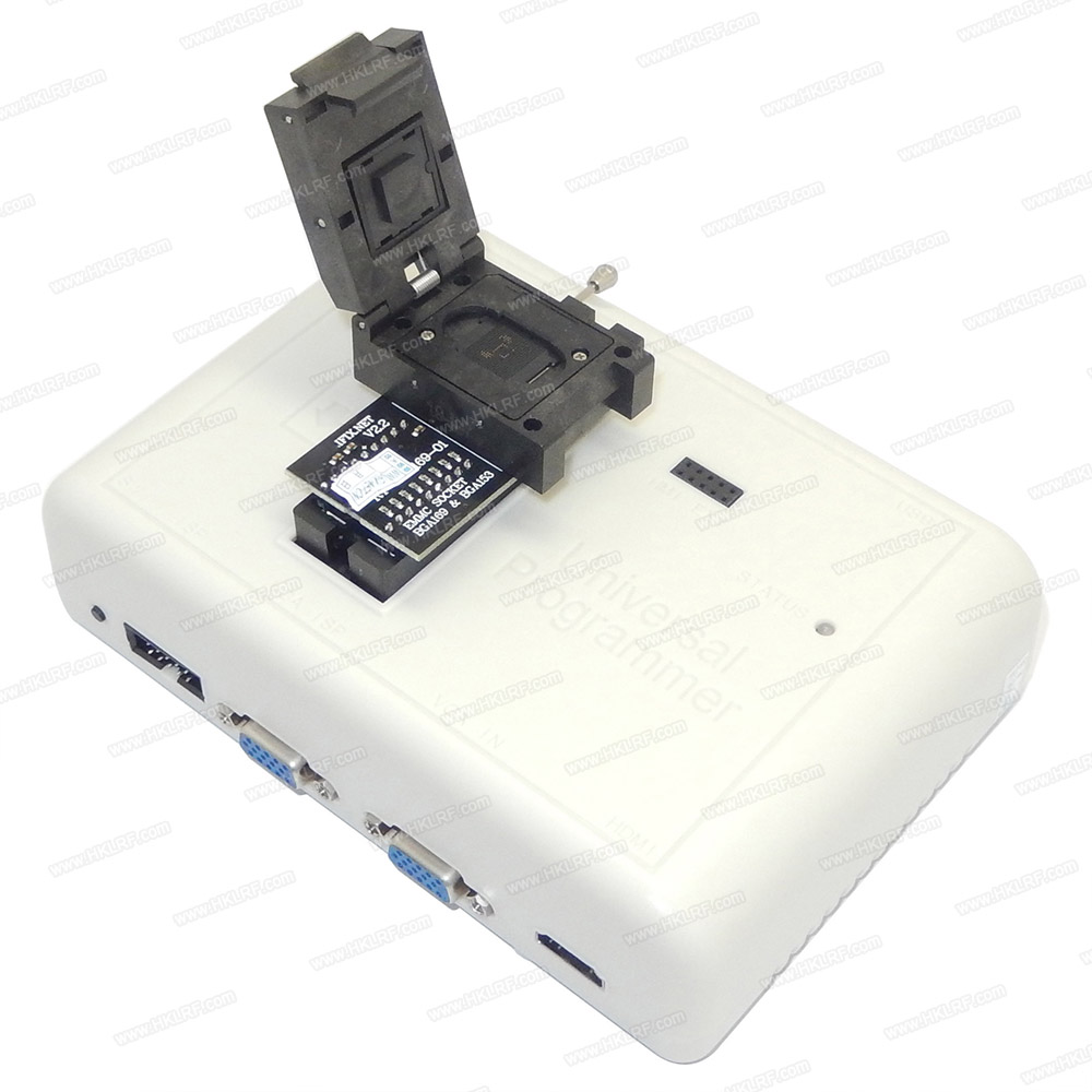 V2 2 RT BGA169 01 BGA169 BGA153 Adapter Socket For RT809H Programmer adapter With 3pcs BGA