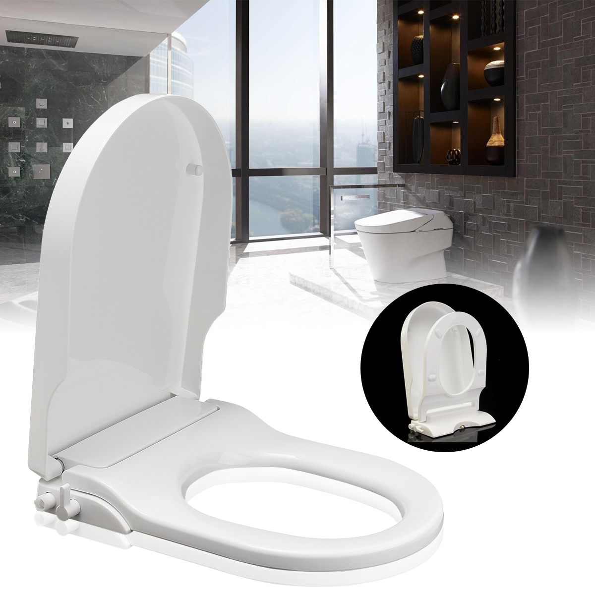 Xueqin Non Electric Toilet Seat Bidet Spray Nozzle Toilet