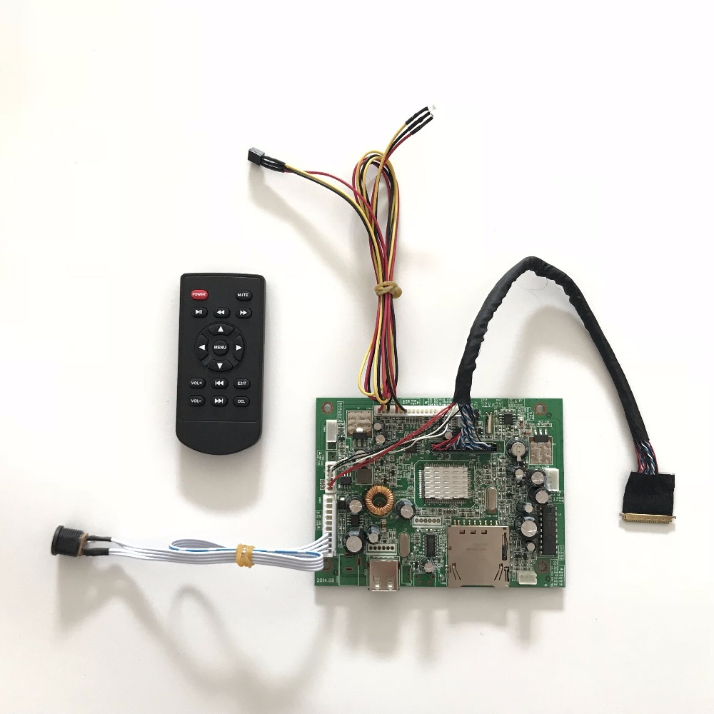 Free Shipping MV59BAD USB SD media player Board Kit for B173HW01 B173HW02 17.3 inch LED Panel 1920x1080 LCD DIY xilinx fpga development board xilinx spartan 3e xc3s250e evaluation board kit lcd1602 lcd12864 12 modules open3s250e package b
