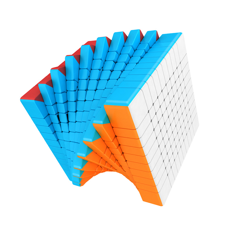 MOYU MeiLong 10x10x10 Cube magique vitesse puzzle jeu jouet Profession tournoi 84mm Cubes éducation Antistress jouets pour enfants