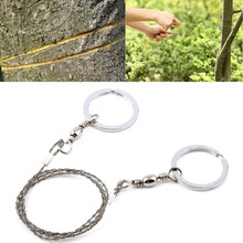 SEWS Free Shipping Emergency Survival Gear Steel Wire Saw Camping Hiking Hunting Climbing Gear New Arrival