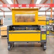 VOIERN WR6090 900*600 мм 60 Вт RUIDA co2 лазерный гравировальный станок 220 В/110 В лазерный резак engarver diy CNC гравировальный станок