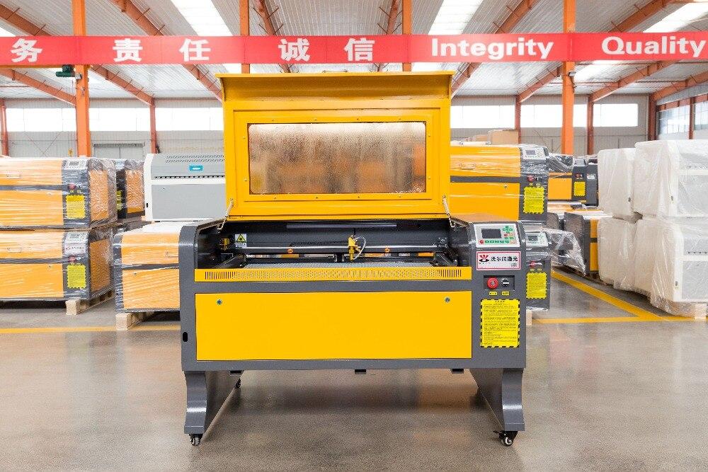 VOIERN 60 W M2 WR6090 900*600mm co2 laser engraving machine220v/110 v engarver laser cortador diy máquina de gravura do CNC