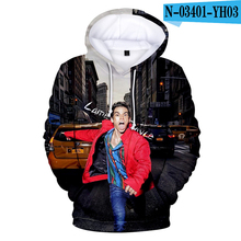 Cameron Boyce Hoodie Print Hooded Sweatshirts RIP 3d Clothing Oversized Men Clothes 2019 3D Hoodie Pullover Memorial Clothes trees sunset 3d print pullover hoodie