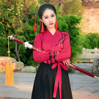 Chinese Folk Dance Clothes Hanfu for Women National Costume Fairy Dress Tang Dynasty Ancient Costumes for Stage Costumes