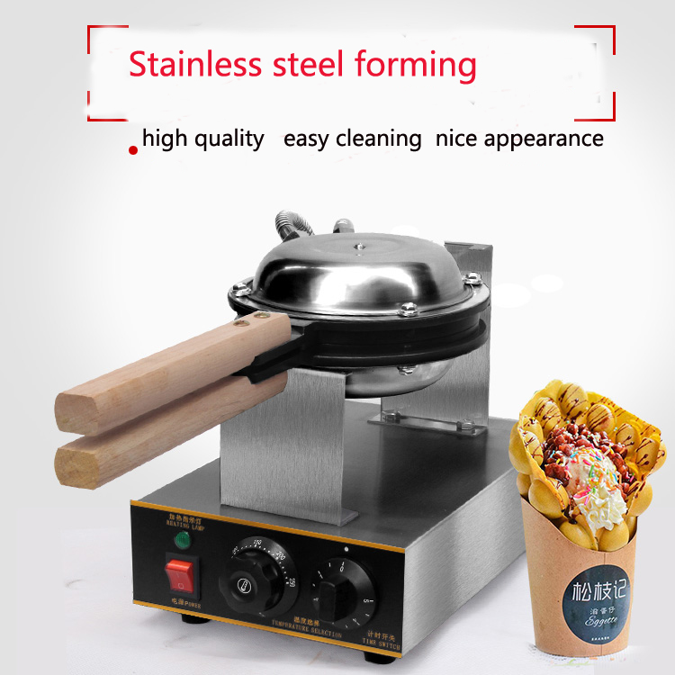 China professional supplier major in producting digital hongkong egg waffle maker QQ egg waffle machinery