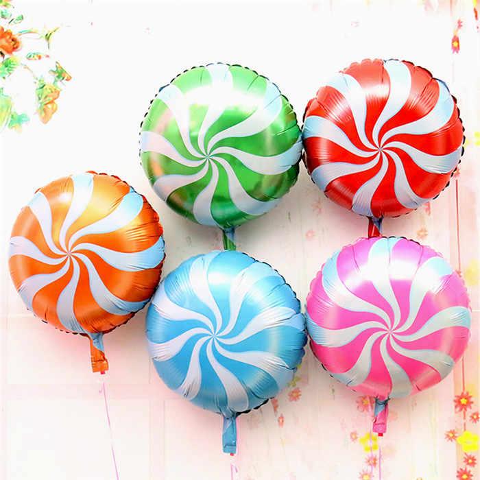 18 дюймов воздушные шары на день рождения ребенка фрукты Фольга украшения из воздушных шаров на день рождения для взрослых и детей пляжная вечерние гелиевый надувной воздушные шары