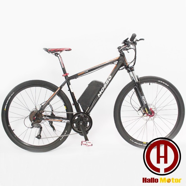 29er 48v750w Electric Mountain Bike In The Home Mid Drive Motor With South Korea S Lithium Battery Pack Sports