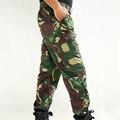 Мужская multi-карман Тактические грузовые Военные Камуфляжные Штаны Случайные Брюки Брюки 2016 Мужчин, работающих брюки и Штаны мужчины 4XL