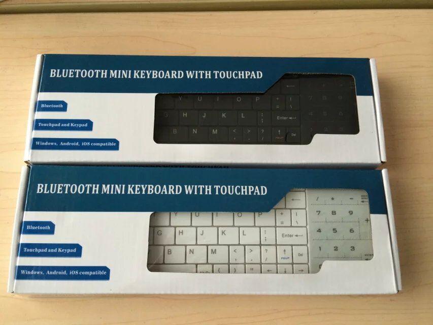 US $19 1  Ultra thin Wireless Touch Bluetooth Keyboard Slim Super Light  Blueteeth Keyboard For Air Mini Ipad Laptop Desktop BT8-in Keyboards from