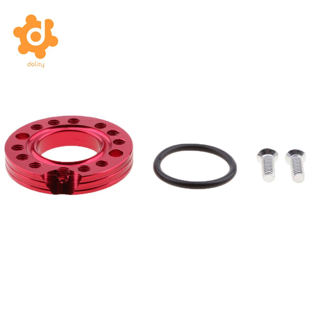 26mm Red Carburetor Carb Manifold Spinner Plate for Pit Pro Quad Dirt Bike
