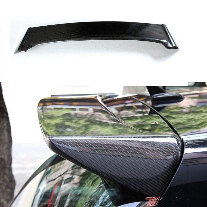 Aileron de toit en Fiber de carbone de Style O pour Volkswagen VW Golf 6 VI MK6 GTI & R20 2010 ~ 2013