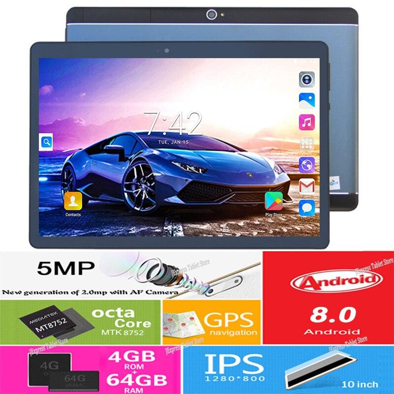 2019 Updatest nowy Google Play 10 cal tablet pc Octa rdzeń 3G 4G FDD LTE 4 GB pamięci RAM 64 GB ROM Bluetooth Wifi IPS GPS tabletki 10 10.1 w Tablety Android od Komputer i biuro na AliExpress - 11.11_Double 11Singles' Day 1