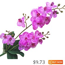 JAROWN-Artificial-Real-Touch-Latex-Butterfly-Orchid-Flores-3-Branch-15-Head-Band-Leaf-Fake-Flower
