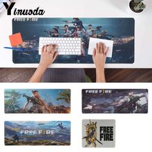 hot deal buy yinuoda top quality free fire durable rubber mouse mat pad free shipping large mouse pad keyboards mat mouse pad