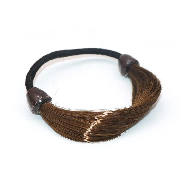 Dairəvi əl ilə bükülmə kauçuk baş bandı ipi üzük Elastik - Geyim aksesuarları - Fotoqrafiya 4