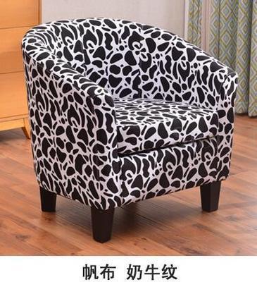 Европейский тканевая одноместная Софа стул интернет кафе кофе небольшой диван гостиничная комната кабинет компьютерный диван стул - Цвет: VIP 1