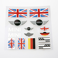 Car Stickers and Decals Auto Design Car Wrap Sticker Car Styling MINI Cooper Jack Union Vinyl Flag Decals Motorcycle Accessories