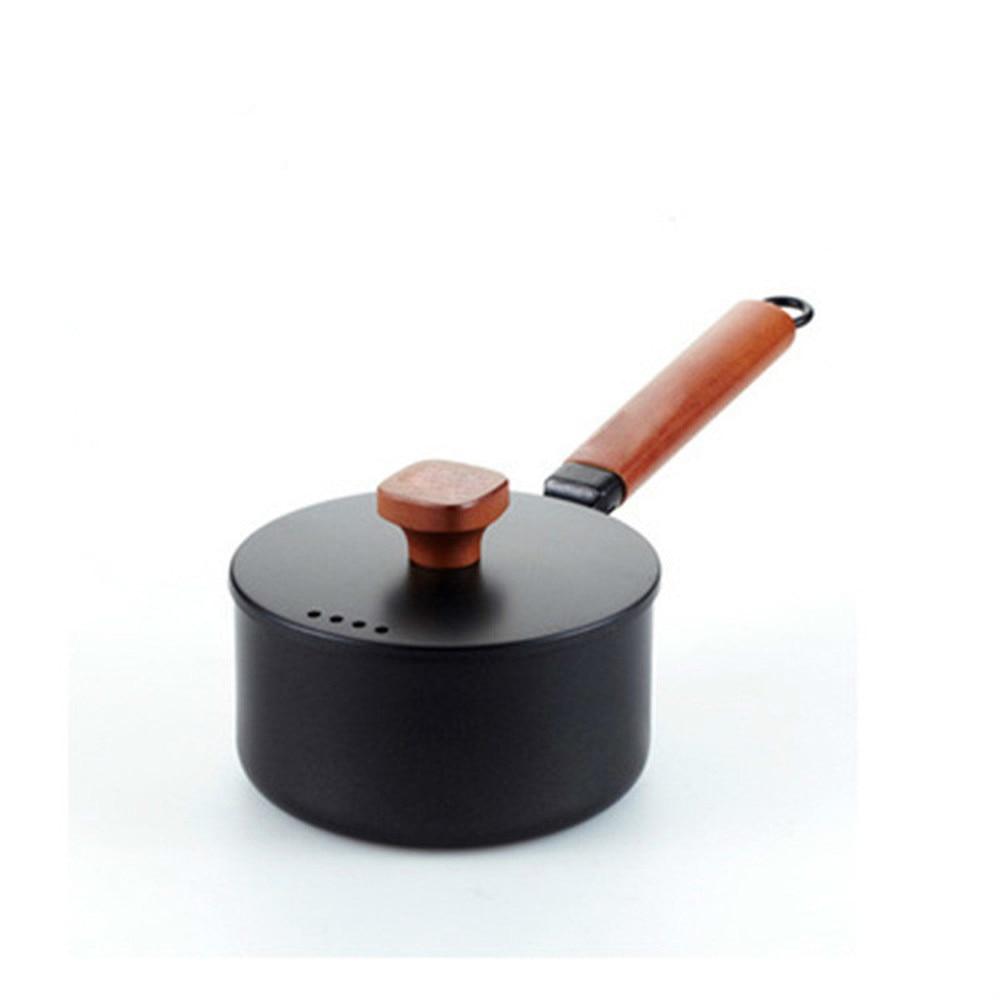 Pot en fer de haute qualité définit une poêle antiadhésive non revêtue cuisinière à induction au gaz pot en fonte général LM12171038 - 4