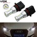 IJDM Авто P13W LED без ошибок Canbus 12SMD-3030 SH24W светодиодные лампы для 2008-2012 Audi A4 Q5 дневные ходовые огни  красный белый желтый