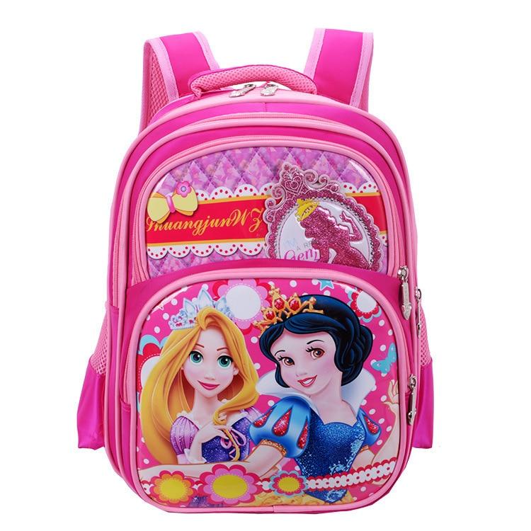 NPASON 2018 Fashion Primary School Bag Boys/grils Children School Bag Snow White Kindergarten Bag Lage Space Cartoon Bag