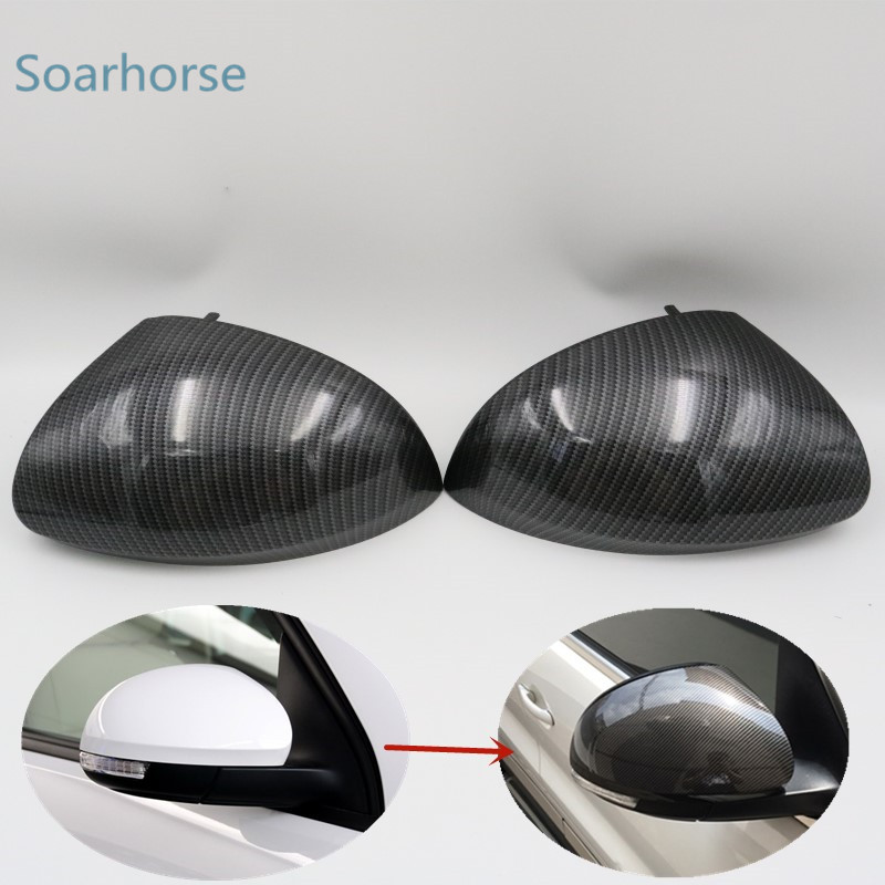 Car Rearview Mirror Cover side rear view Cap Shell Housing For Volkswagen Tiguan Sharan For Skoda