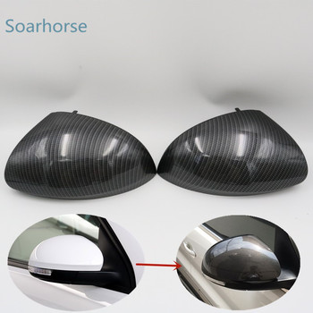 Car Rearview Mirror Cover side rear view Cap Shell Housing For Volkswagen Tiguan Sharan For Skoda Yeti wing mirror cover