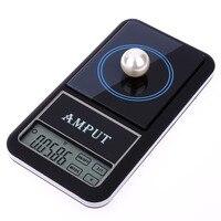 200g x 0.01g Précision Mini Écran Tactile LCD Numérique de Poche Échelle de Diamant de Bijoux Gem Balance Pondération APTP446 Électronique échelle