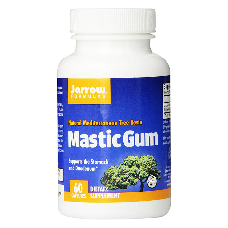 Free shipping Jarrow Mastic Gum supports the stomach and duodenum 60 pcs