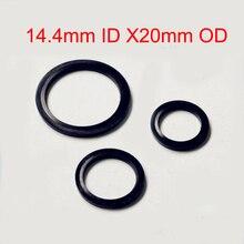100 PCS Rubber Full Package Type Metal & Bonded oil plug gasket Seal Anti-rust O Ring Fit M14