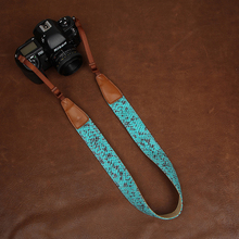 Cam-in 7163 Soft denim cotton camera strap digital SLR shoulder band for Nikon Canon