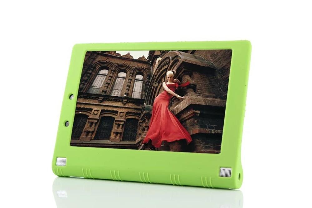 dolmobile 10pcs Soft Silicon Back TPU Cover for Lenovo Yoga Tab 2 1050 1050F L 1051F